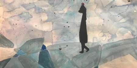 Exposición en (M)ARTE, trabajos de los alumnos