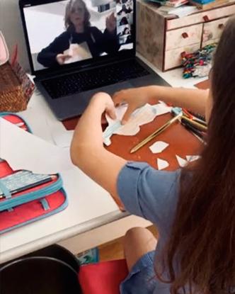 Clases y talleres de pintura online para niños y adultos