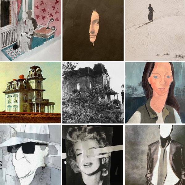 curso de pintura inspirada en el cine