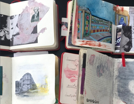 Curso Pintura. Cuaderno de Viaje